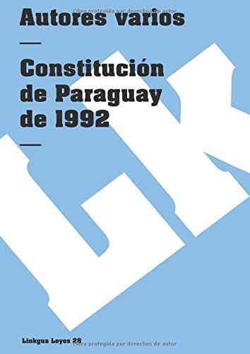 9788498161274: Constitución de Paraguay (Leyes)
