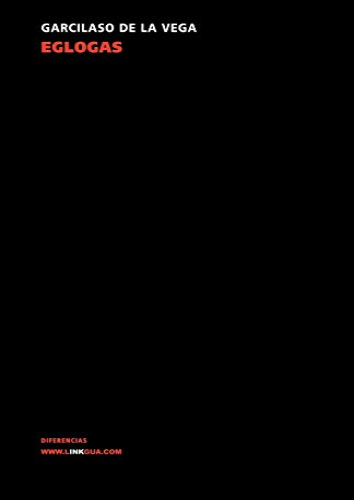 9788498162394: Églogas (Poesia (Linkgua))
