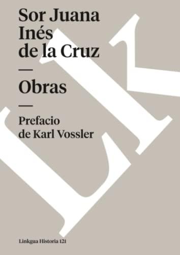 9788498163384: Obras de sor Juana Inés de la Cruz (Diferencias) (Spanish Edition)