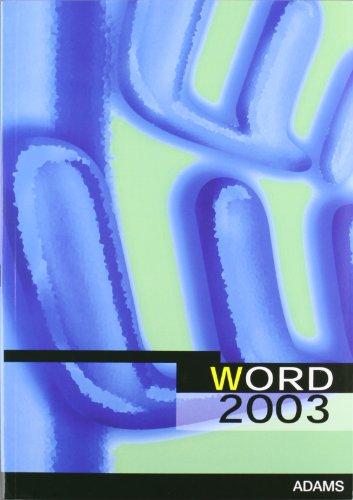 9788498185171: Word 2003