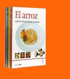 9788498201673: Cocina Visual Paso a Paso (Spanish Version) (Arroz, Pescados, Verduras, Sopas, Bebidas, Aves, Pasta, Postres, Ensaladas y Carnes., Set of 10 books)