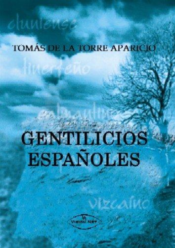9788498214994: GENTILICIOS ESPAÑOLES