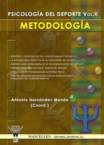 9788498230314: Psicología Aplicada Al Deporte: Metodología