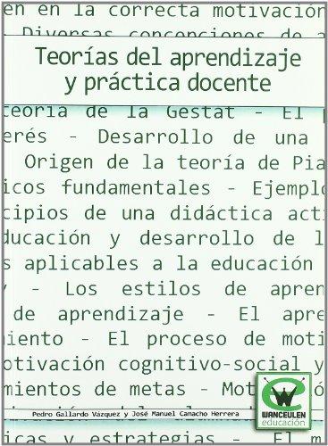 9788498235715: Teorias Del Aprendizaje Y Practica Docente (Spanish Edition)