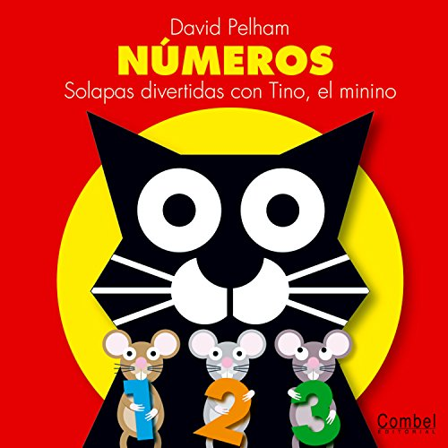 Numeros: Solapas divertidas con Tino, el minino (Spanish Edition): David Pelham, David Pelham (...