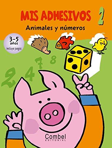 9788498251876: Animales y números (Mis adhesivos)