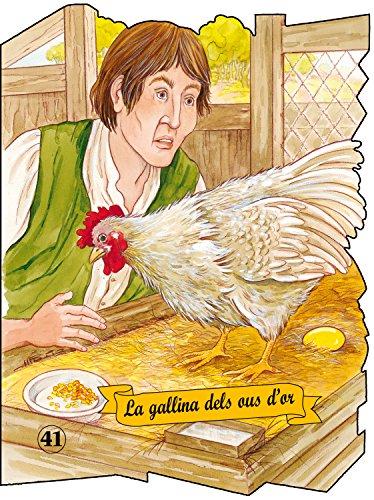 9788498254020: La gallina de los huevos de oro (Troquelados clasicos series) (Spanish Edition)