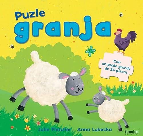 9788498254228: Puzle granja: Con un puzle grande de 24 piezas (Spanish Edition)