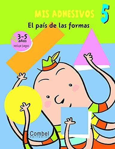 9788498254273: MIS ADHESIVOS 5 EL PAIS DE LAS FORMAS