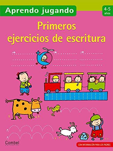 9788498255140: Primeros ejercicios de escritura 4-5 años (Aprendo jugando)