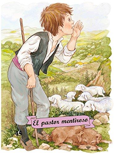 El pastor mentiroso (letra de imprenta): Carmen Blázquez Gil