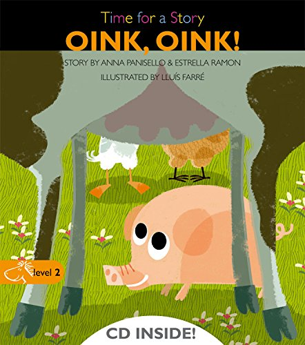 9788498256123: Oink, oink! (Time for a Story)