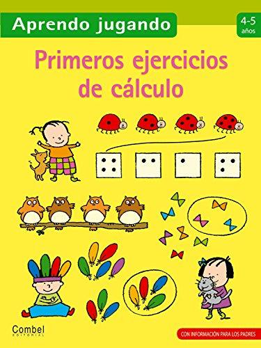 9788498257106: Primeros ejercicios de cálculo (Aprendo jugando) (Spanish Edition)