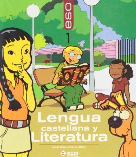 9788498262148: Lengua castellana y literatura, 1 ESO