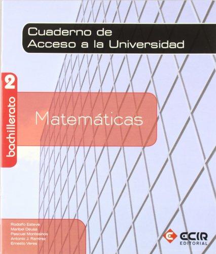 9788498264883: Matemáticas 2º Bachillerato / 2009