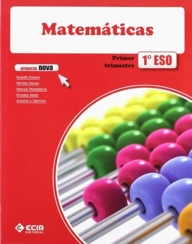 9788498265705: 1ESO MATEMATICAS 2011 NOVA (ECIR)