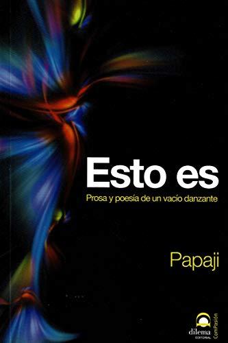 9788498270976: Esto es (Spanish Edition)