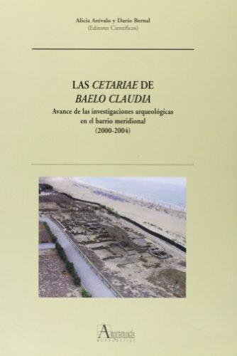 Las cetariae de Baelo Claudia : avance: Alicia Arévalo González,