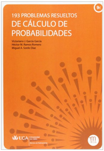 9788498281620: 193 problemas resueltos de cálculo de probabilidades