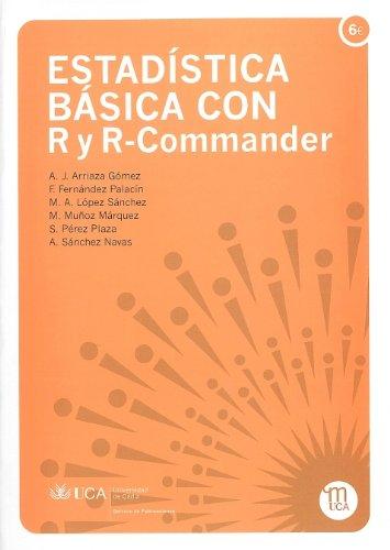9788498281866: Estadística básica con R y R Commander (Manuales a 6 euros)