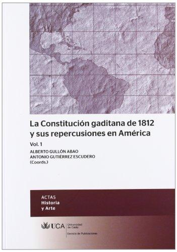 LA CONSTITUCION GADITANA DE 1812 Y SUS: VARIOS