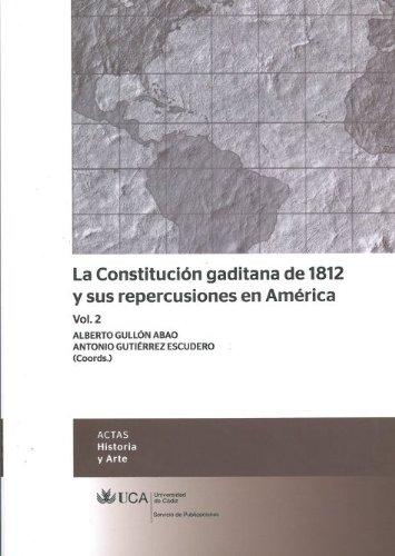 Constitución gaditana de 1812 y sus repercusiones: Aa.Vv.