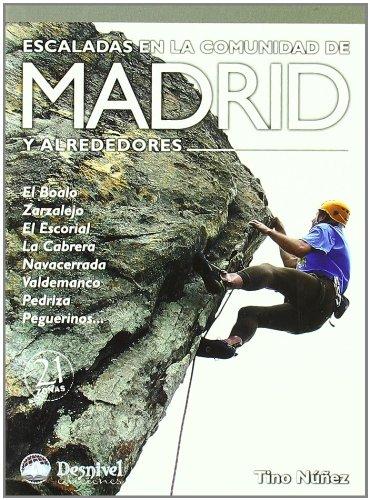 9788498290332: Escaladas En La Comunidad De Madrid Y Alrededores