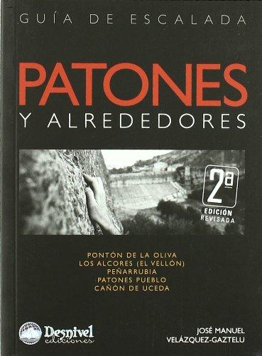 9788498291391: Patones y alrededores. Guía de escalada