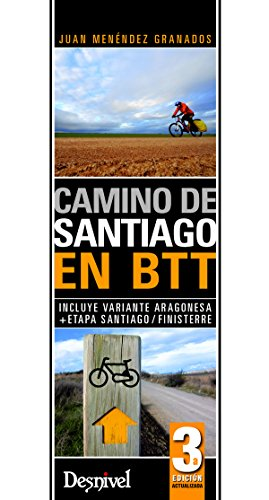 9788498292664: Camino de Santiago en Btt (Travesias En Btt)