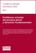 9788498302806: Problemas actuales del proceso penal y derechos fundamentales (Cuadernos Penales José María Lidón)
