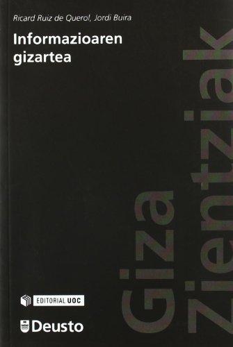 9788498302905: Informazioaren gizartea (Humanidades)