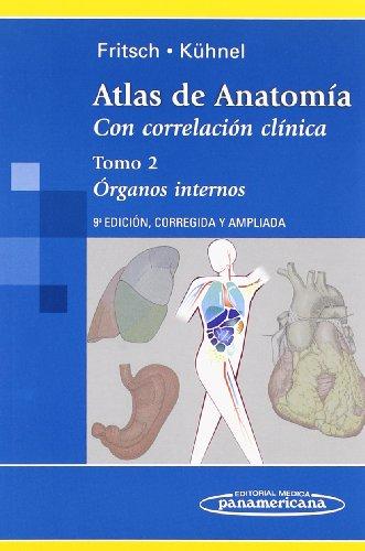 9788498351262: Atlas de Anatomía: Atlas de Antomía. Con Correlación Clínica: Órganos Internos: 2