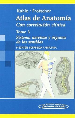9788498351279: Atlas de anatomia / Anatomy Atlas: Con correlacion Clinica. Sistema nervioso y organos de los sentidos / With clinical correlation. Nervous System and Sense Organs (Spanish Edition)