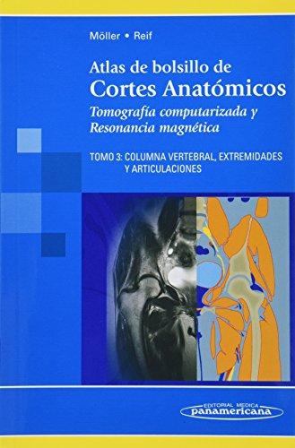 3: Atlas De Bolsillo De Cortes Anatomicos: Moller, Torsten B.