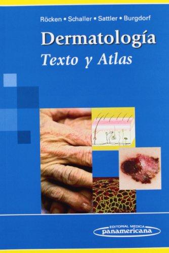 9788498353075: Dermatología: Texto y Atlas