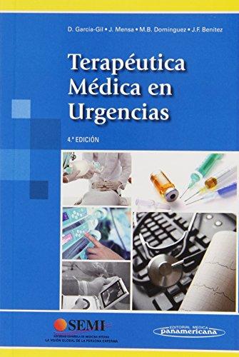 Terapéutica médica en urgencias: García Gil/Mensa/Domínguez/Benítez