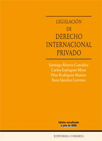 9788498364286: LEGISLACIÓN DE DERECHO INTERNACIONAL PRIVADO.
