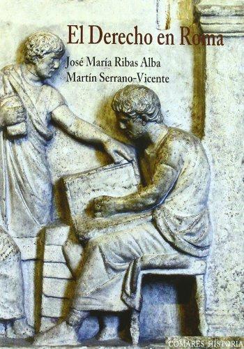 El derecho en Roma (Paperback): José María Ribas