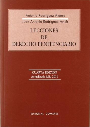 9788498368413: LECCIONES DE DERECHO PENITENCIARIO 4'ED