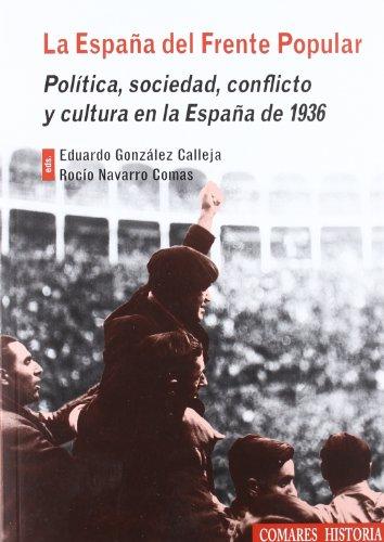 9788498368918: España del frente popular, la