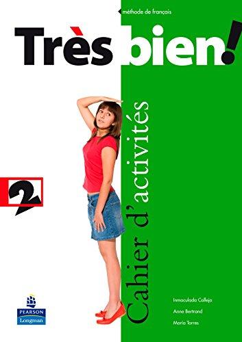 9788498372229: Très bien ! 2 cahier d'activités pack (français) (Tres Bien!) - 9788498372229