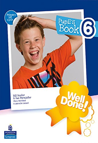 9788498373110: Well Done! 6 Pupil'S Pack - 9788498373110