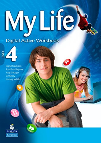 9788498374247: My Life 4 Active Workbook