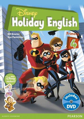 9788498375848: Disney Holiday English Primary 4 (ELT Disney)