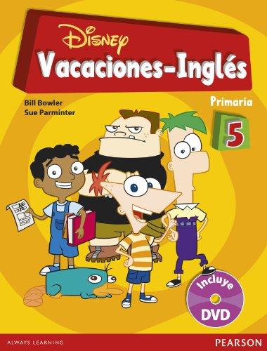 Vacaciones Disney Inglés, 5º de Primaria (849837586X) by Parminter, Sue