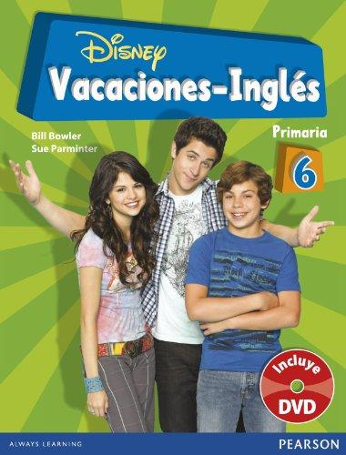9788498375909: Vacaciones Disney Ingles 6º de Primaria