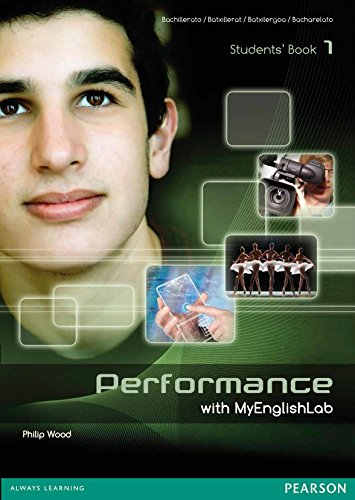 9788498376098: Performance 1 Students' Book with MyEnglishLab