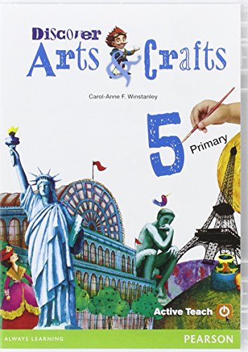 9788498377309: Discover Arts & Crafts 5 Active Teach