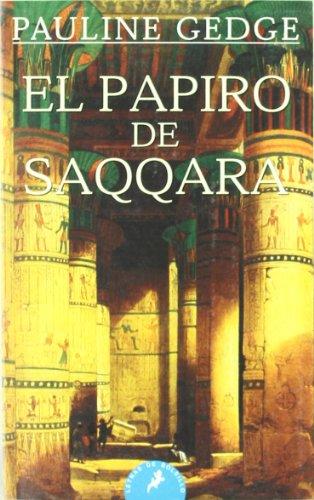 9788498380088: Papiro de saqqara, el (Letras De Bolsillo)
