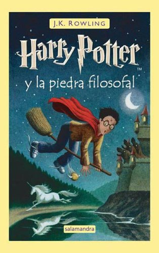 9788498380125: Harry Potter y La Piedra Filosofal (Spanish Edition)